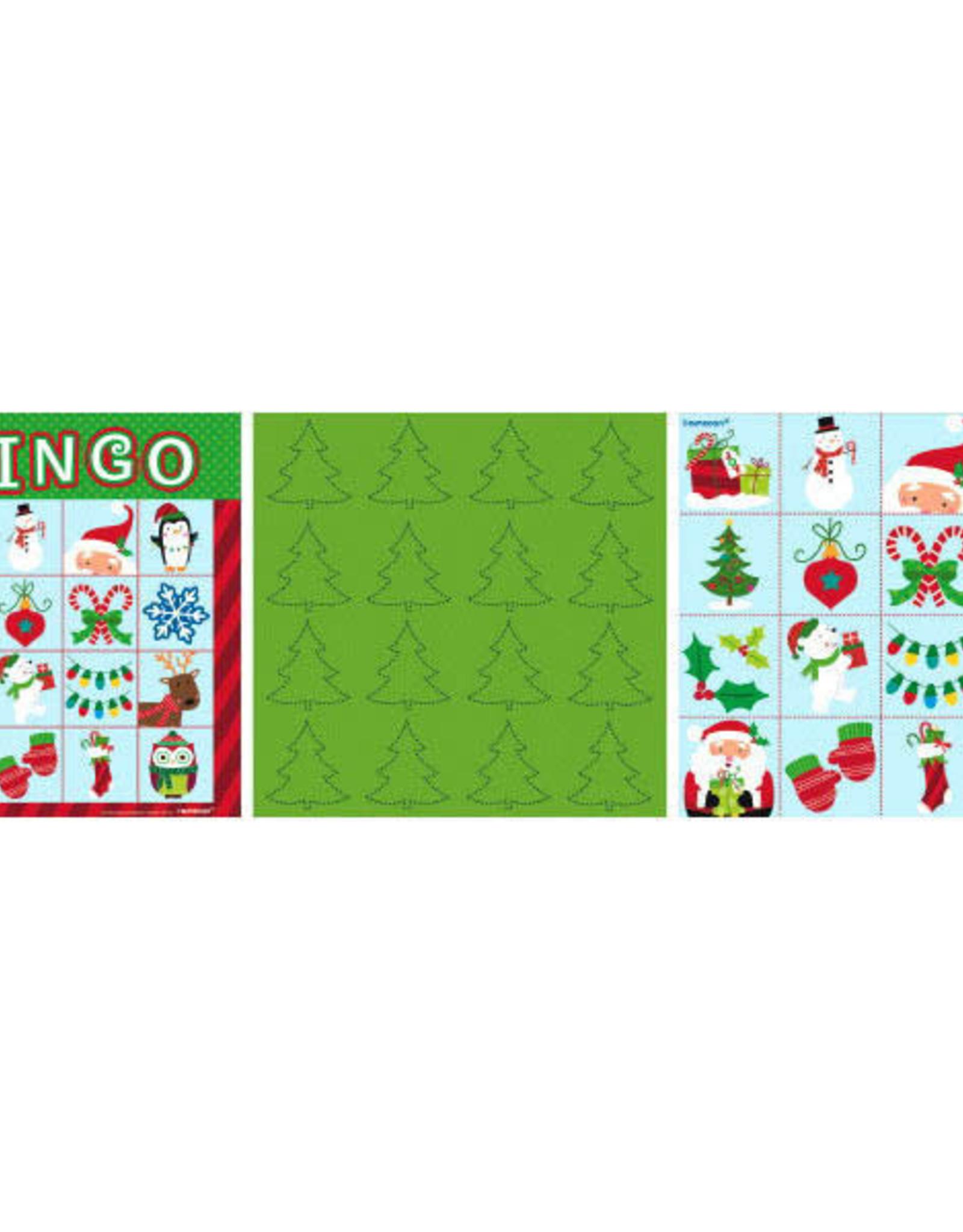 Christmas Bingo 16 People
