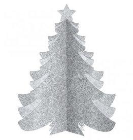 3D Standing Christmas Tree Glitter