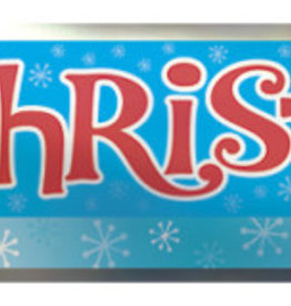 Snowman 'Merry Christmas' 12FT Foil Banner