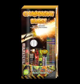Champagne Burst Fireworks Kit - 188 Shots