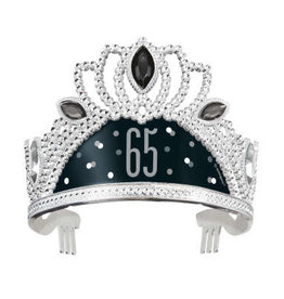 Black and Silver 65th Tiara