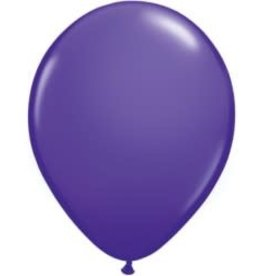 "Purple Violet 12"" Latex Singles"