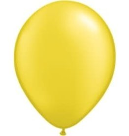 "Pearl Citrine Yellow 12"" Latex Singles"