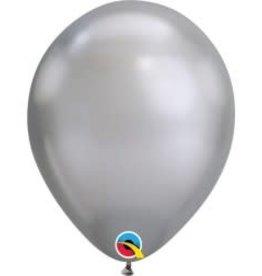 "Chrome Silver 12"" Latex Singles"