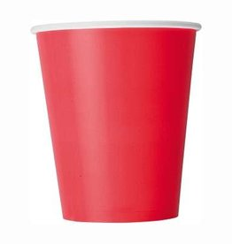 Red Paper Cups 8 pk
