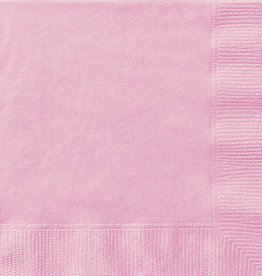 Lovely Pink Beverage Napkins 50 pk
