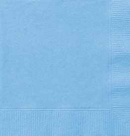 Powder Blue Beverage Napkins 50pk
