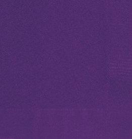 Deep Purple Luncheon Napkins 50pk