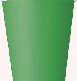 Emerald Green Paper Cups 8ct