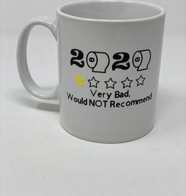"""2020 Not Recommend"" Porcelain Custom Mug"