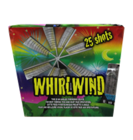 Whirlwind Fireworks Cake 25 Shots
