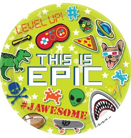 This Is Epic Gaming Dinner Plates 8ct, 9""