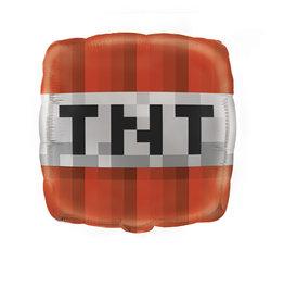 """Minecraft TNT Foil Balloon 18"""""""