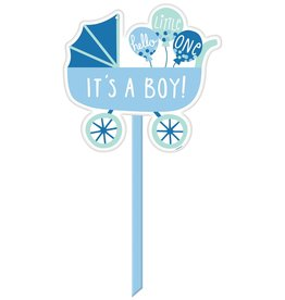 Plastic Yard Sign - It's a Boy!