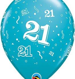 "21 Printed 12"" Latex Singles"
