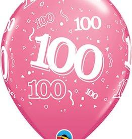 "100 Printed 12"" Latex Singles"