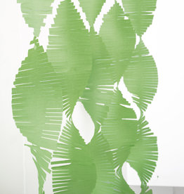 Lime Green Paper Fringe Garland 9ft