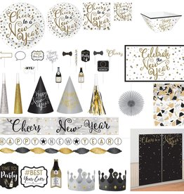 Insta-Party New Years Kit 158ct