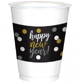 'Happy New Years!' Solo Cup 25ct, 16oz