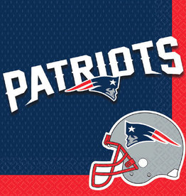 New England Patriots Luncheon Napkins 16ct