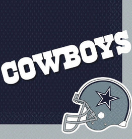Dallas Cowboys Luncheon Napkins 16ct