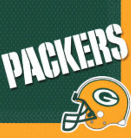 Green Bay Packers Luncheon Napkins 16ct