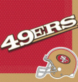 San Francisco 49ers Luncheon  Napkins 16ct