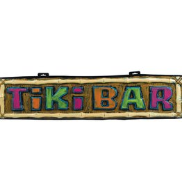 Plastic Tiki Bar Sign 3.5FT