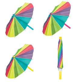 Paper Umbrella Decorations 3pk