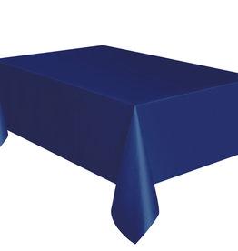 "True Navy Blue Rectangle Tablecloth, 54"" x 108"""