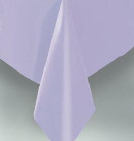 "Lavender Plastic Rectangle Tablecloth, 54"" x 108"""