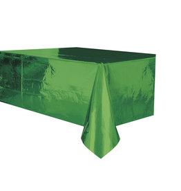"Green Metallic Rectangle Tablecloth, 54"" x 108"""