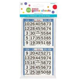 Bingo Game Sheets, 125 Pads