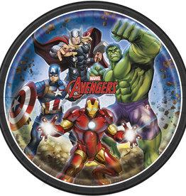 Avengers Dinner Plates 8ct