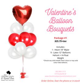 Valentine's Balloon Bouquet #1
