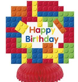 Lego Blocks Honeycomb Centerpieces 3ct