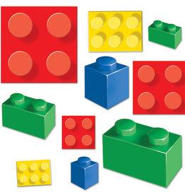 Lego Blocks Paper Cutouts 20ct