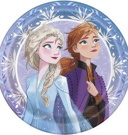 """Frozen 2 Round 9"""" Dinner Plates, 8ct"""