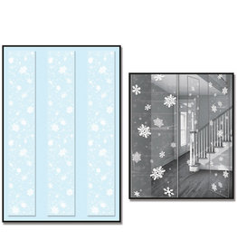 Snowflake Printed Party Panels, 3ct