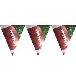 Football Pennant Banner 12ft