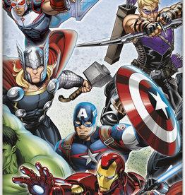 "Avengers Rectangular Plastic Tablecloth 54"" x 84 """