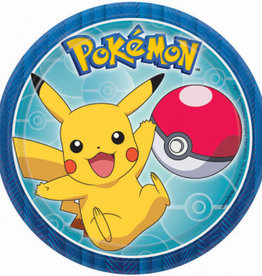 "Pokemon™ Dessert Plates 7"", 8ct"