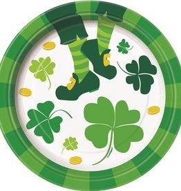 St. Patrick's Dessert Plate, 8ct