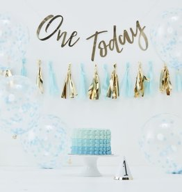 1st Birthday Cake Smash Kit, Blue