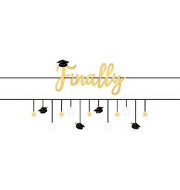 """Finally!"" Graduation Banner Kit, 12FT"
