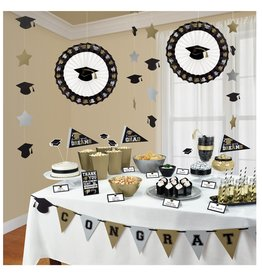 Grad Buffet Decorating Kit, 23ct