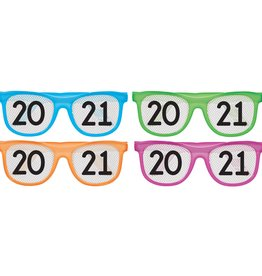 2021 Multi Pack Neon Glasses, 8ct