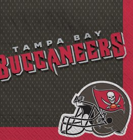 Tampa Bay Buccaneers Luncheon Napkins 16ct