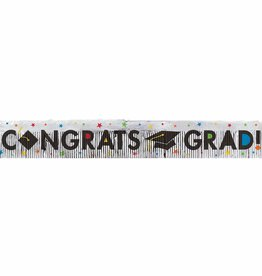 """""""Congrats Grad""""Fringe Banner, 5FT"""