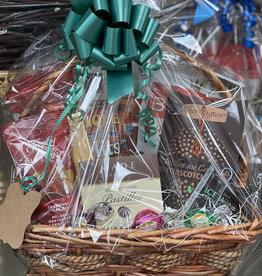 Gift Basket - Wicker and Straw basket